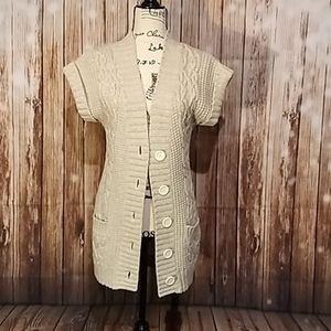 Express short sleeve sweater